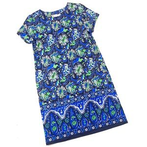 Jude Connally blue Ella shift dress